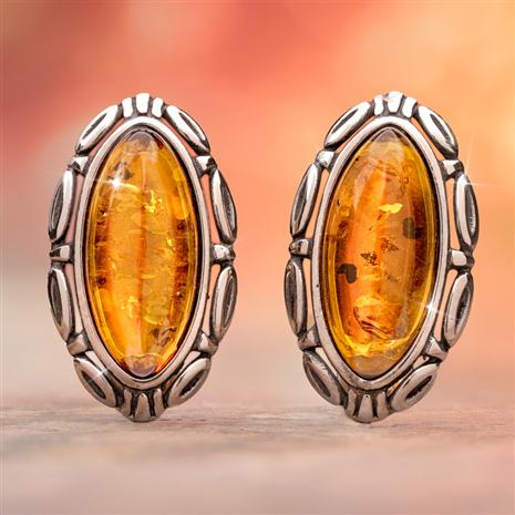 Amber Mystique Earrings