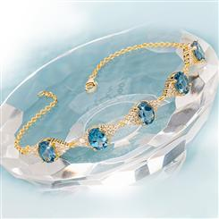 London Blue Topaz Decadence Bracelet