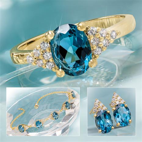 London Blue Topaz Decadence Collection