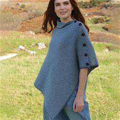Genuine Irish Wool Poncho