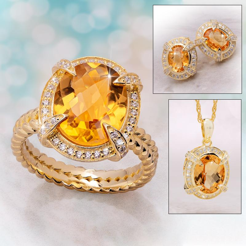 Golden Citrine Collection