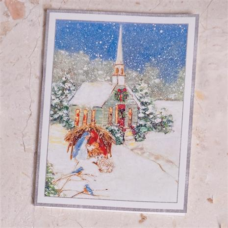 Chapel in the Snow Christmas Cards