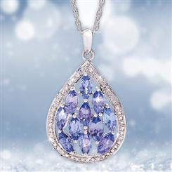 Tanzanite Celebration Pendant