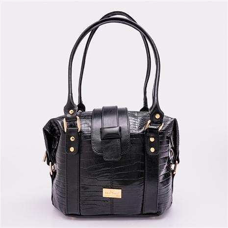 Secchiello Bag (Black)