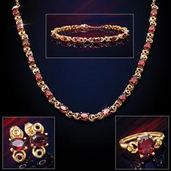 Forbidden Fruit Red Garnet Collection