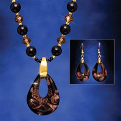 Esotica Murano Necklace and Earrings