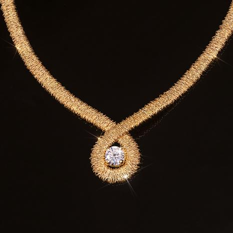 Italia Moissanite Necklace