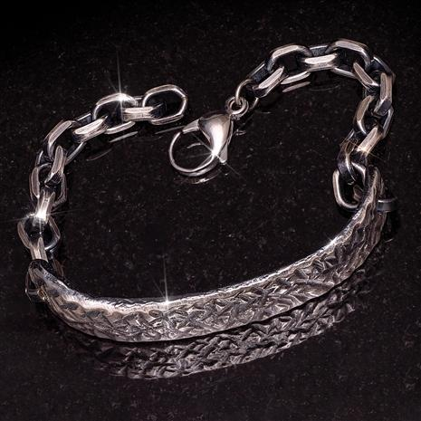 Italian-Made Blacksmith's Bracelet