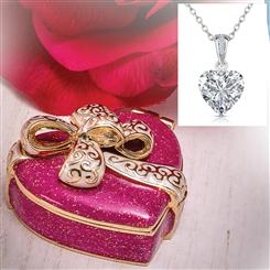 Sweet Heart Treasure Box plus FREE Rock of Love Pendant