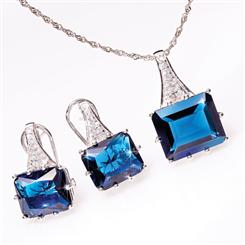 Blue Fire Helenite Collection