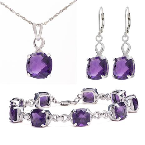 Sterling Silver Amethyst Collection