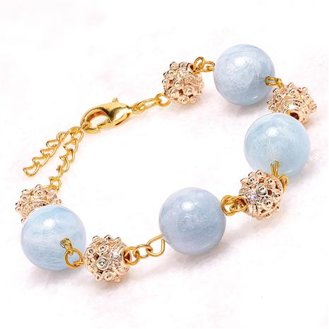 Aquamarine Evening Bracelet
