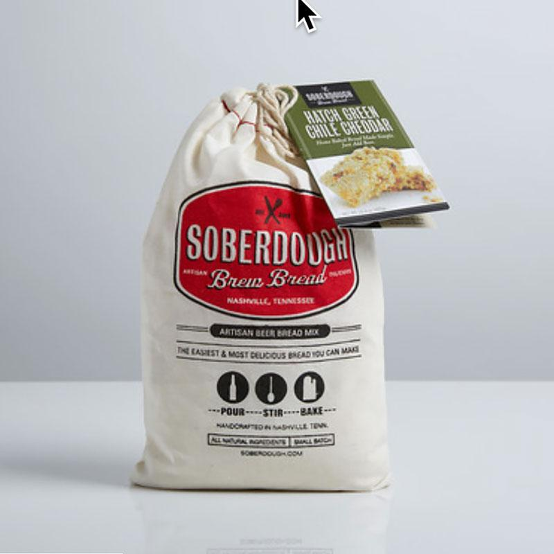 Soberdough Artisan Beer Bread Mix (Hatch Green Chile Cheddar)