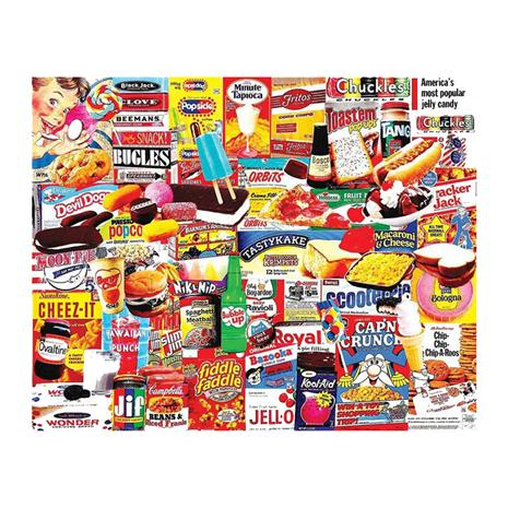 Things I Ate As A Kid Puzzle (1,000 pieces)