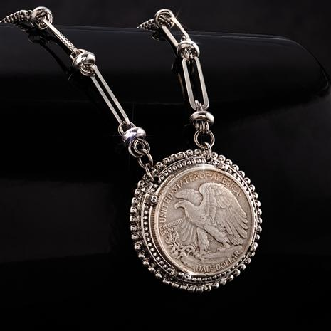 Wings of an Eagle Coin Necklace