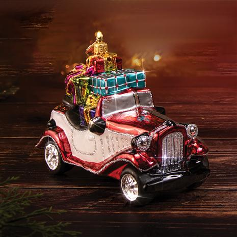 Holiday Magic Retro Convertible Ornament
