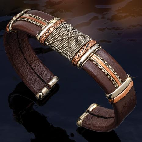 Magic Man Leather Bracelet
