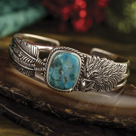 Men's Arizona Turquoise Eagle Bangle
