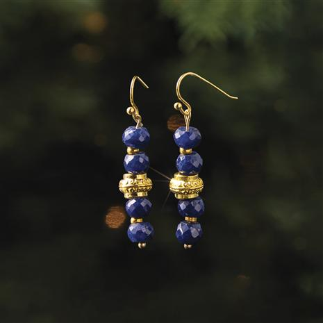 Good Blues Sapphire Earrings