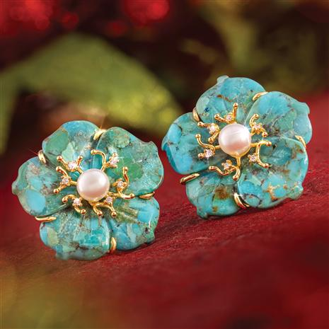Desert Flower Earrings