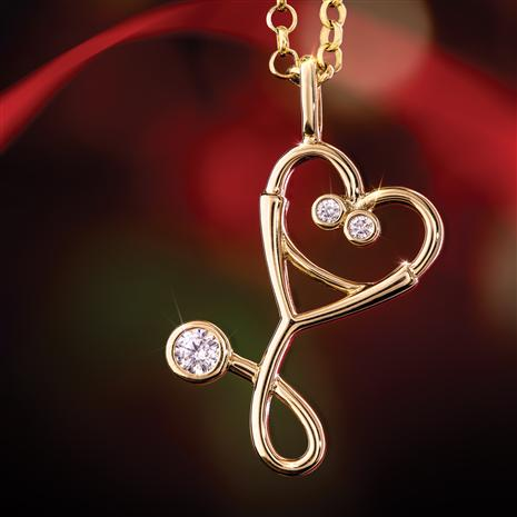 From the Heart Pendant & Chain