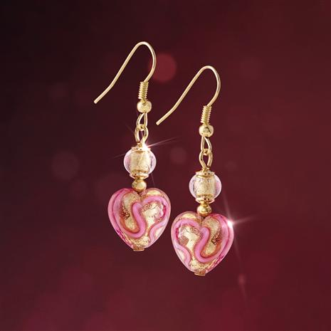 Be Mine Murano Earrings
