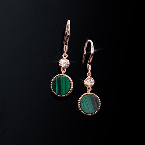 Malachite Good Fortune Earrings