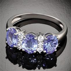Rare Beauty Tanzanite Ring