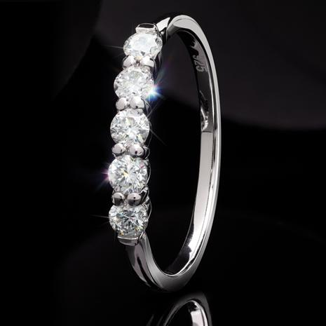 Lab-Created Diamond Ring (1/2 ctw)