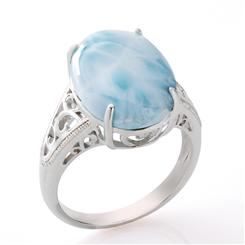 Sea of Love Larimar Ring