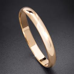 14K Yellow Gold Italian-Made Wedding Band