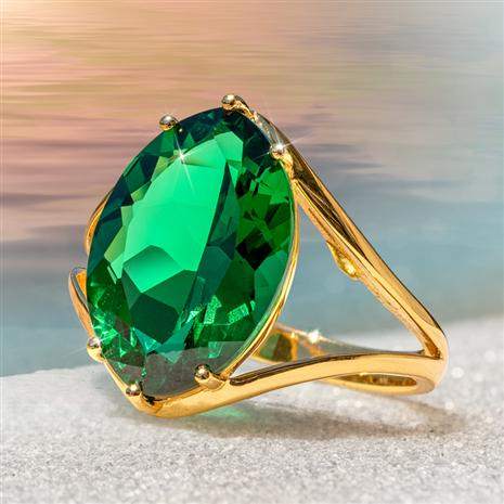 Helenite Marquise Ring (8 1/2 carat)