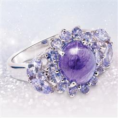 Tanzanite Totality Ring (3 ctw)