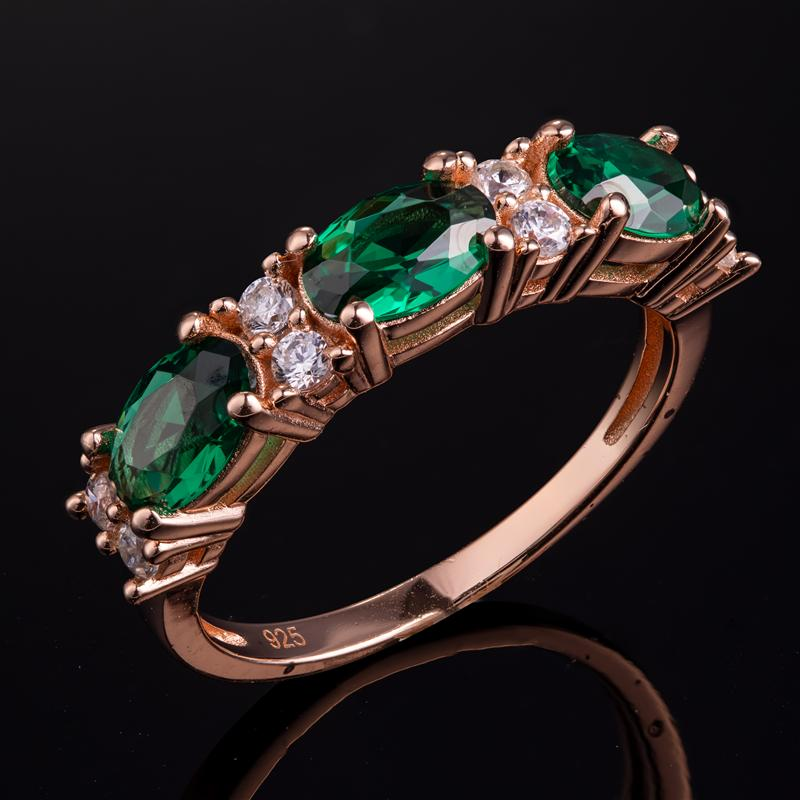 Stress-Free Glamour Ring (Emerald Green)
