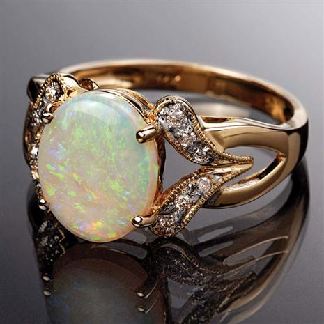 Opal Ring, Elegant Womens Rings by Stauer