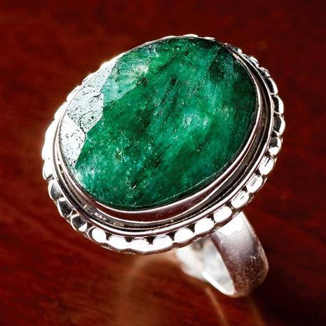 Carnaval Emerald Ring