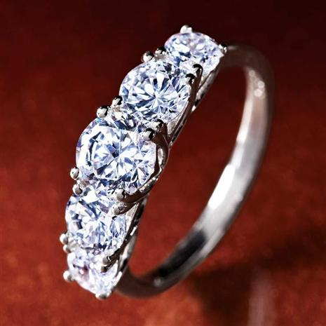 5-Stone Diamondaura Ring