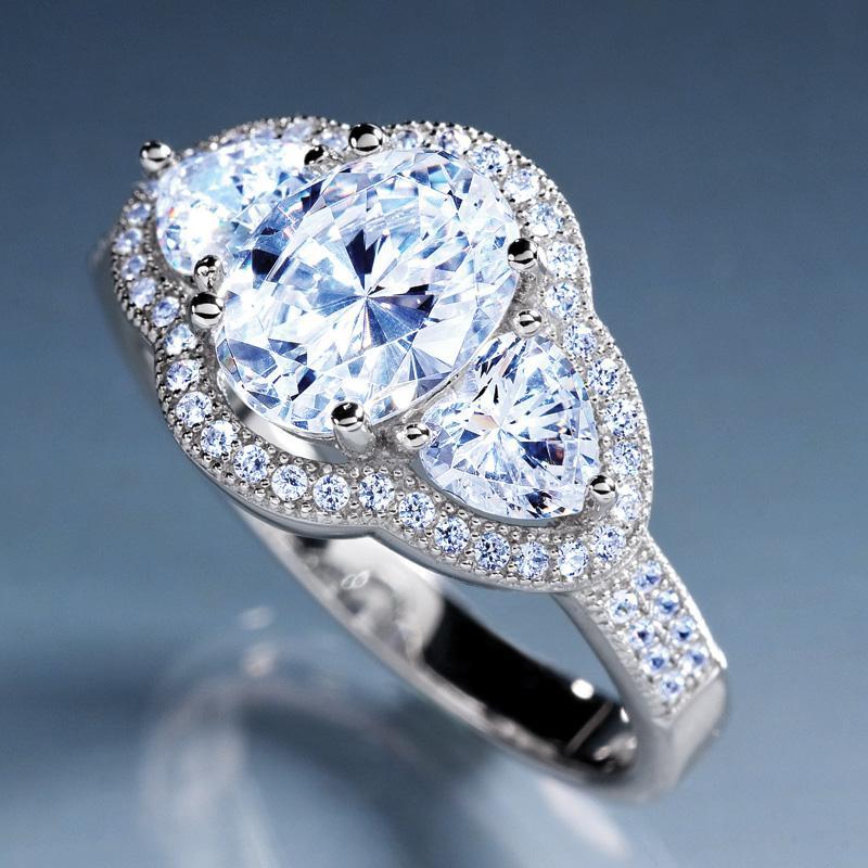 diamondaura 174 sweet nothing ring w5592 stauer