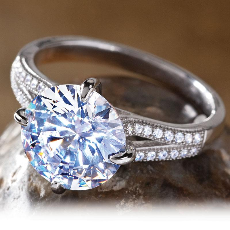 diamondaura 174 avalon ring w5648 stauer