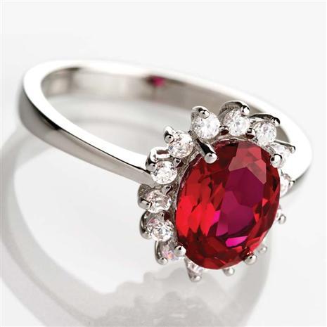 Crimson Passion Ring