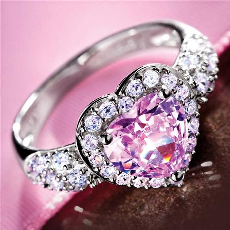 PINK DIAMONDAURA® RING