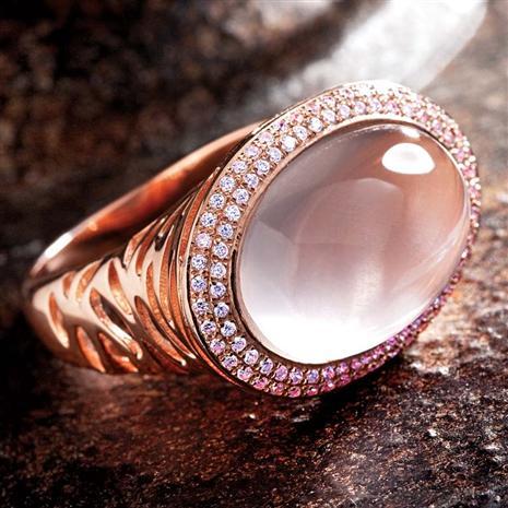 Palantine Rose Quartz Ring