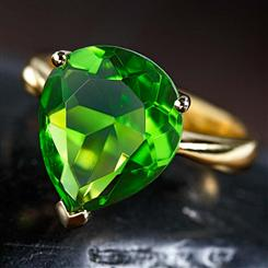 Helenite Ring