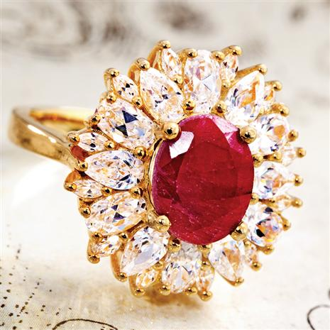Rojas Ruby Ring