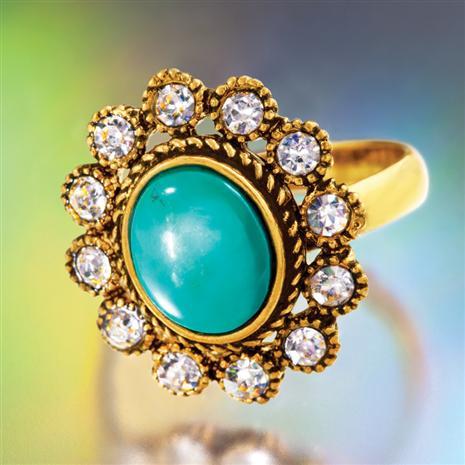 Faro Turquoise Ring Stauer Online Discount