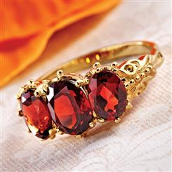 Ever After Garnet Ring