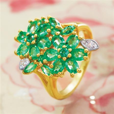 Zambian Emerald Ring Stauer Online Discount