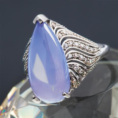 Lady Anne Chalcedony Ring