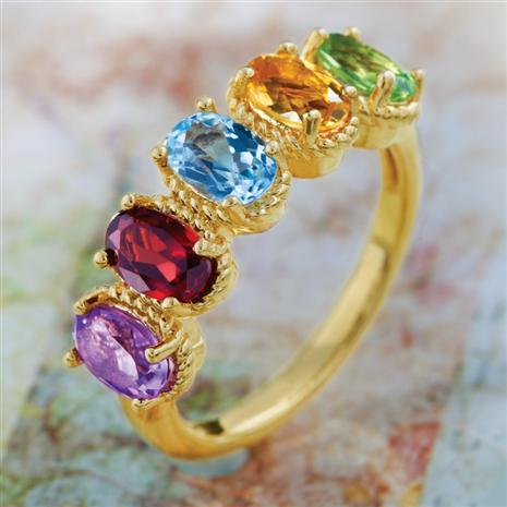 Melloria Gemstone Ring