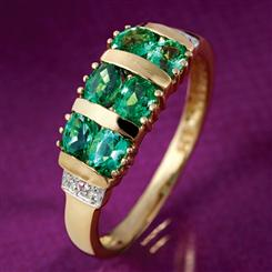 Pride of Zambia Emerald Ring